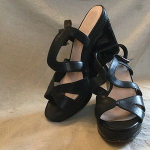 Vince Camuto Black Strappy Sandals